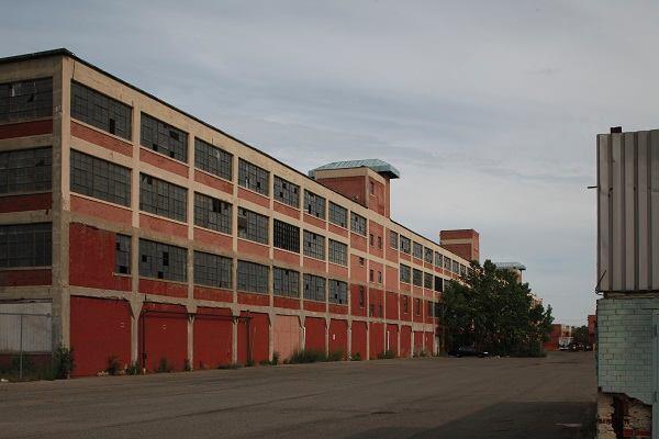 Highland Park Ford Plant.
