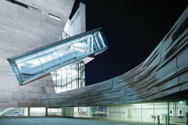 Perot Museum of Nature and Science, Dallas. Morphosis Architects with John A. Martin Associates, Inc., Datum Engineers, Buro Happold, Balfour Beatty Construction.