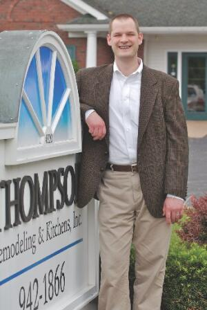 Company: Thopson Remodeling, Grand Rapids, Mich.  Founded: 1980  Ben Thompson: Joined company in 2000, owner with wife, Kristin, in 2008  Current staff: 5 office, 3 field  Current volume: $1.6 million
