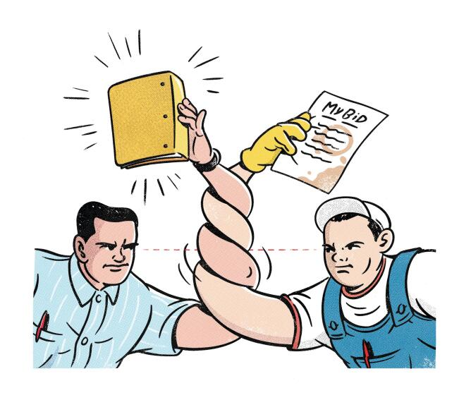 High-Stakes Bidding: Even Upscale Clients Are Asking for Competitive Bids