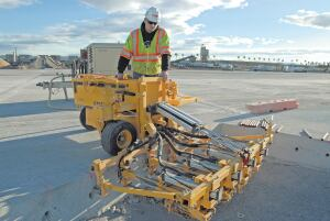 Knowing both the total hole count and logistical factors of a job will help one decide if a larger, multigang slab-rider drill is the most efficient choice.