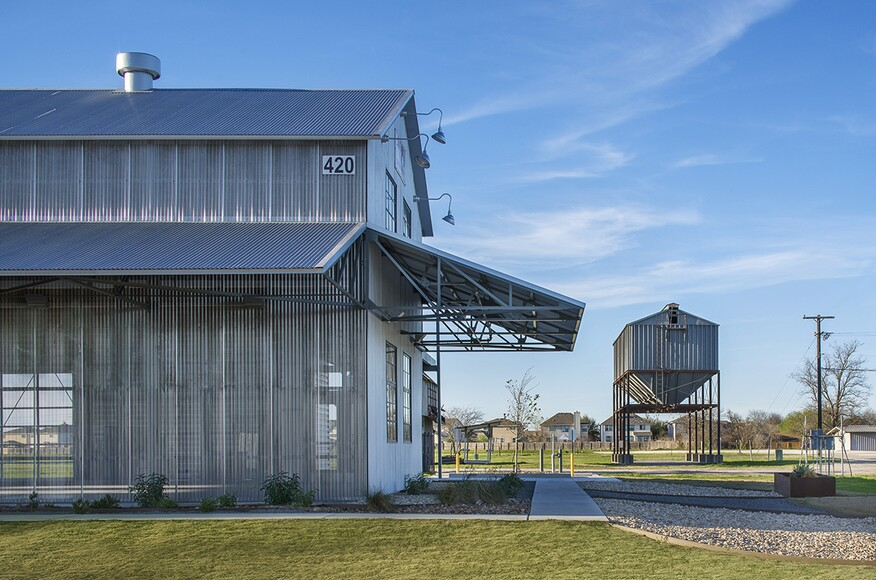 The cotton gin at the co op district architect magazine for Hanley wood texas