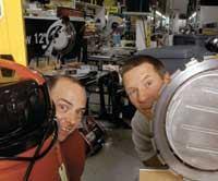 Tim Landry and Dwight Sherman