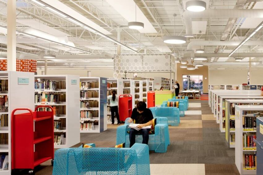 Award-Winning Library Started Life as a Walmart