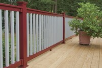 PVC Vinyl Rail in 35 Colors