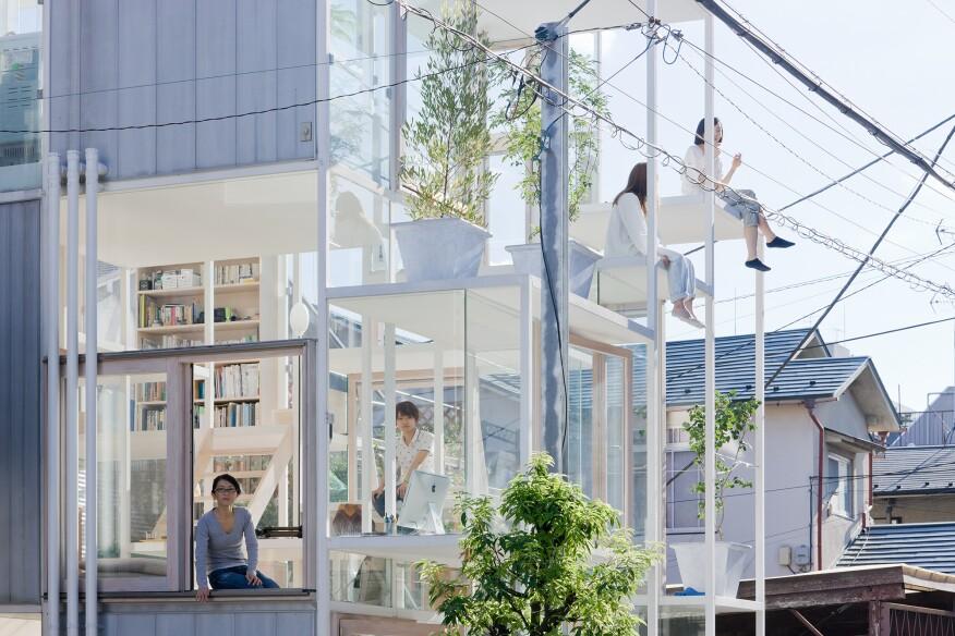 House NA by Sou Fujimoto Architects (2011)