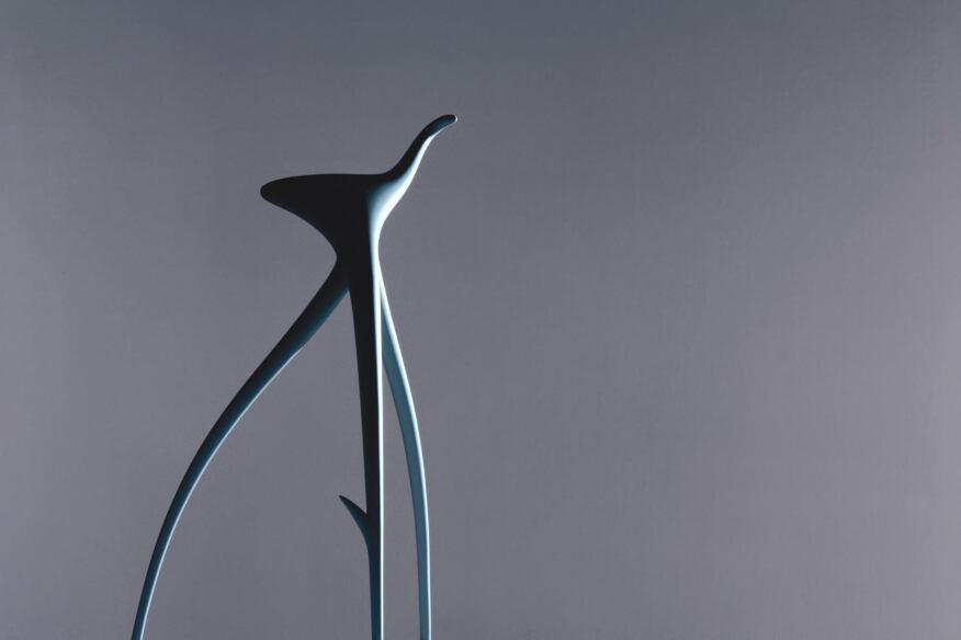 Vitra W. W. Stool, designed by Philippe Starck.