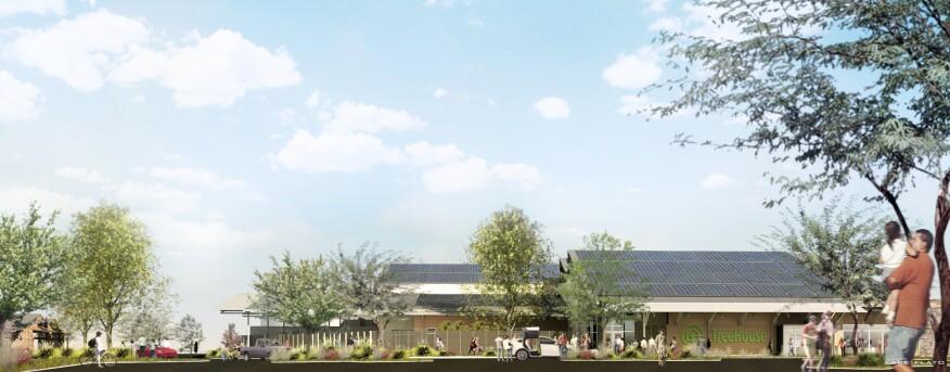 Lake Flato Designs A Not-So-Big-Box Home Improvement Store