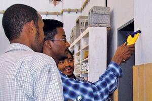 Students in Ethiopia Help Evaluate Metal Locators