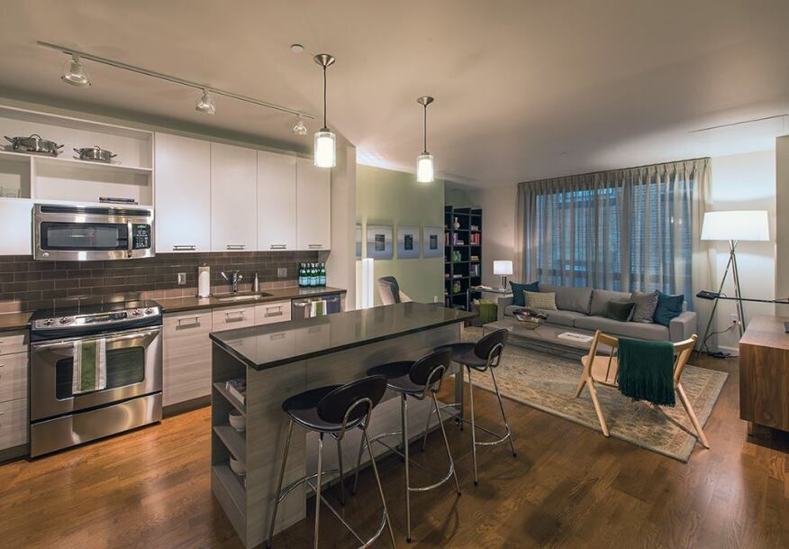 Boston high rise soars as post recession success story for Kitchen design quincy ma