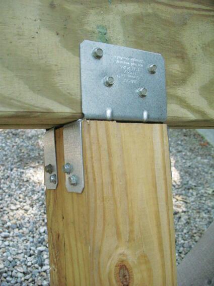 Post To Beam Hardware Professional Deck Builder