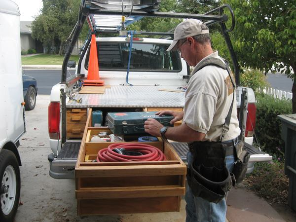 Custom Truck Bed Storage Tools Of The Trade