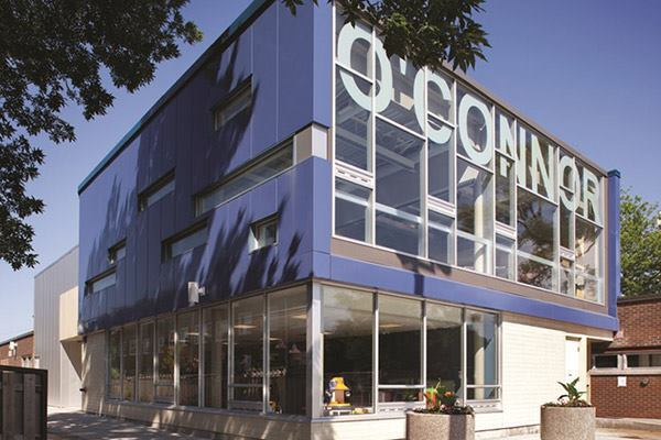 O'Connor Community Centre in Toronto, Ontario Canada by Taylor Smyth Architects.