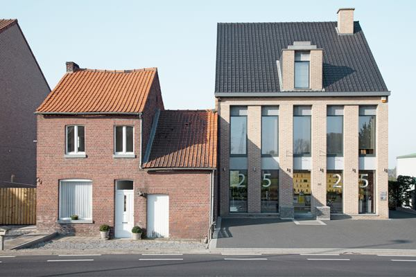"""Neighbours."" Double houses in Belgium. 2014 Sony World Photography Awards Professional Competition Shortlist in Architecture."