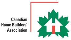 Canadian Home Builders' Assn. Logo