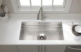Prolific™ Stainless Steel Under-mount Kitchen Sink with accessories