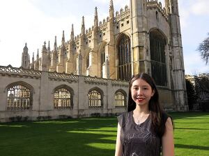 Maria Elena Grimmett traveled to England's famed Cambridge University in March to explore scientific discovery and its influence on literature. The 16-year-old is doing advanced research that could improve drinking water quality. Grimmett is honing a plastic adsorbent that eliminates pharmaceuticals.