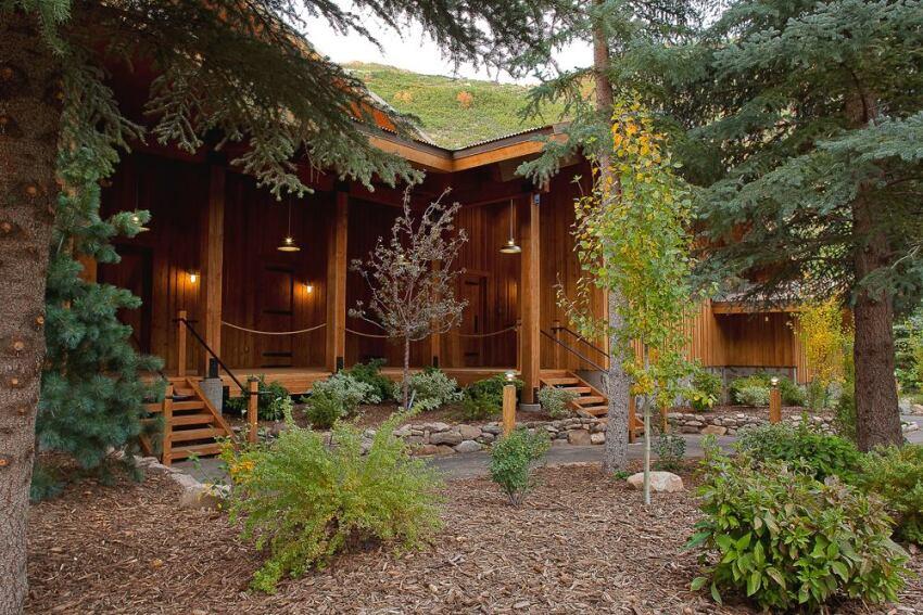 Redford conference center sundance utah ecobuilding for Building a house in utah