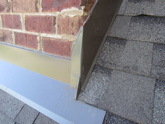True through wall flashing for brick veneer jlc online for 1 2 inch brick veneer