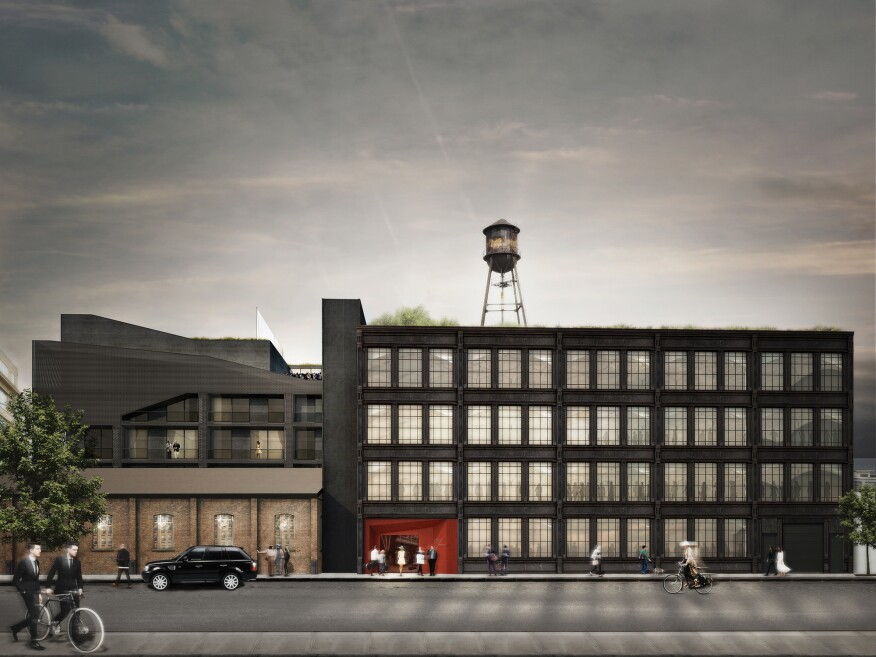 The Hekla Hotel, now underway in Williamsburg, N.Y., will offer luxury accommodations and a boutique feel in a former ironworks factory.