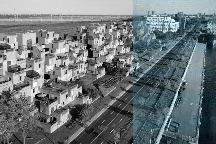 Moshe safdie and the revival of habitat 67 architect for Habitat 67 architecture