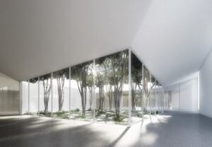 Rendering of the Menil Drawing Institute