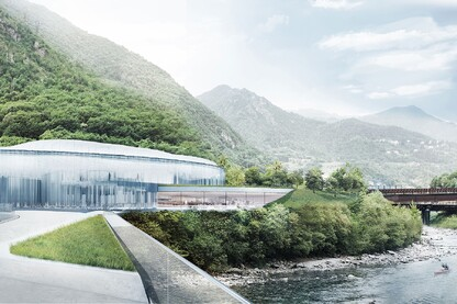 Snøhetta's Proposal for S. Pellegrino Flagship Factory