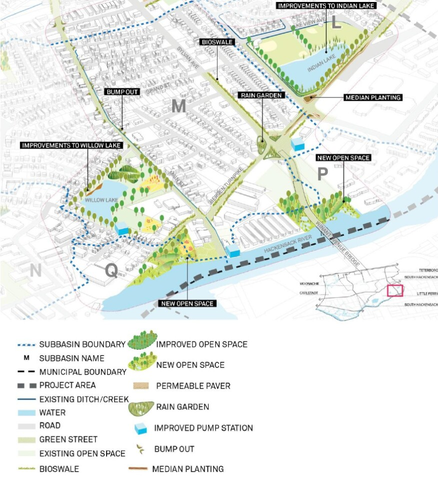 Plan for the New Meadowlands Project