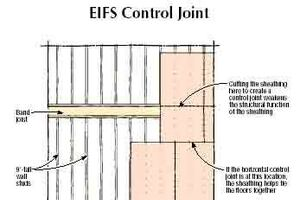 Q&A: Shrinkage Joints in EIFS Cladding
