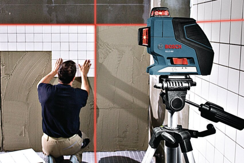 Trick Your Tripod: Bosch Compact Tripod and GLL3-80 Laser