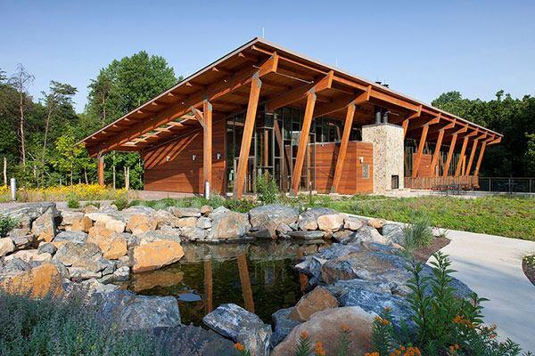 Robinson Nature Center in Columbia, Maryland by GWWO Architects.