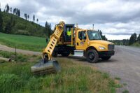 Discovery series hydraulic excavators from Gradall