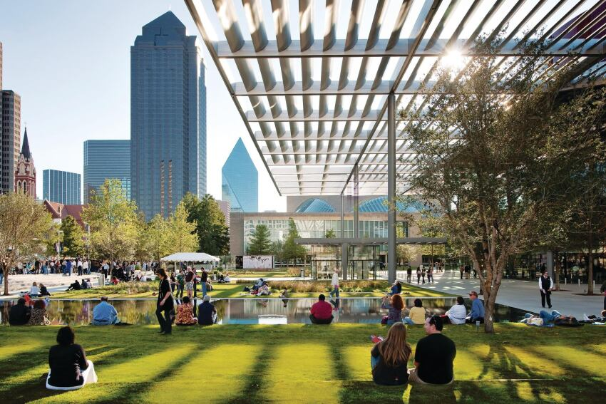New Buildings by Foster + Partners, REX/OMA at Dallas' AT&T Performing Arts Center