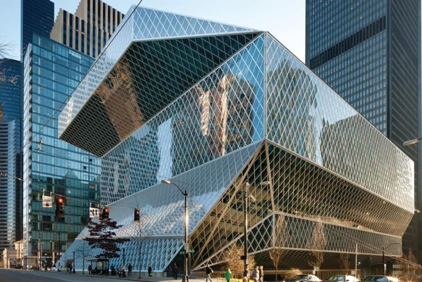 Revisiting Rem Koolhaas's Central Library and Peter Bohlin's City Hall in Seattle