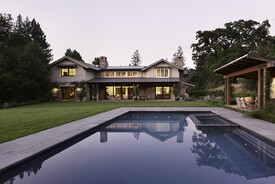Contemporary Craftsman Style Residence