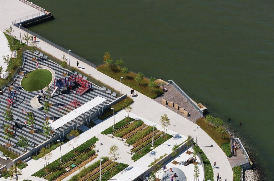 Hunter s point south waterfront park architect magazine for Waterfront landscape design