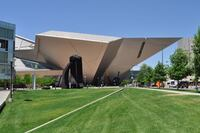 Postscript from Denver - Denver Art Museum's Hamilton Building