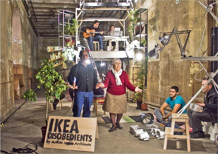 """Ikea Disobedients"""