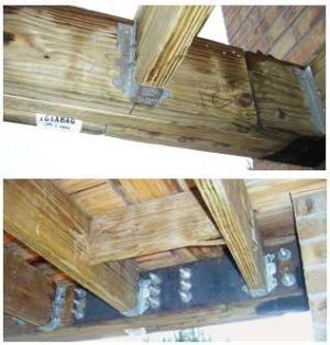 Splices In Built Up Beams Professional Deck Builder