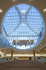 Washington University's Olin Business School's new buildings feature Super Sky skylights finished by Linetec