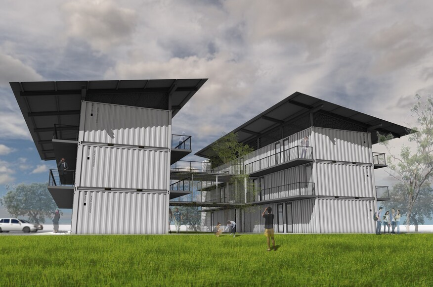 Shipping Container Student Housing Architect Magazine