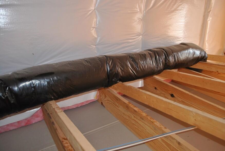 Fixing The Bonus Room Jlc Online Insulation Energy
