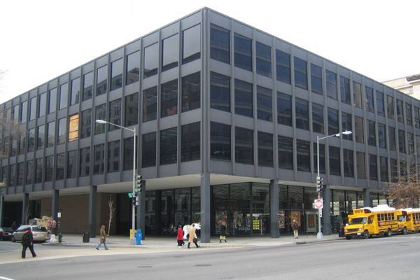 The MLK Library in 2006.