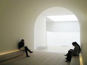 John Pawson's 2010 Plain Space exhibition at the Design Museum, London.