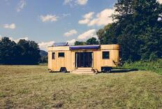 Austrian Tiny Houses Live Large Off the Grid
