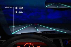 The Smart Highway concept by Studio Roosegaarde and Heijmans Infrastructure.