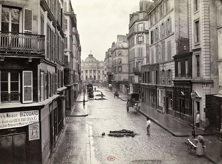 The rue de Constantine c. 1865