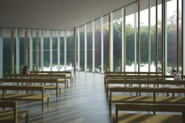 Interfaith Chapel at the University of North Florida in Jacksonville, Florida by Sweet Sparkman Architects.