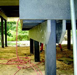 CADILLAC OF FRAMING?: Trimax structural framing lumber, a new product from USPL, is sold as a durable (but more costly) alternative to pressure-treated framing.