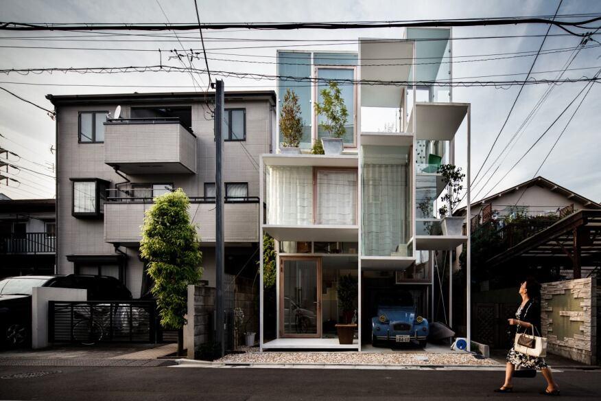 Morning news roundup photographing tokyo houses for O house sou fujimoto